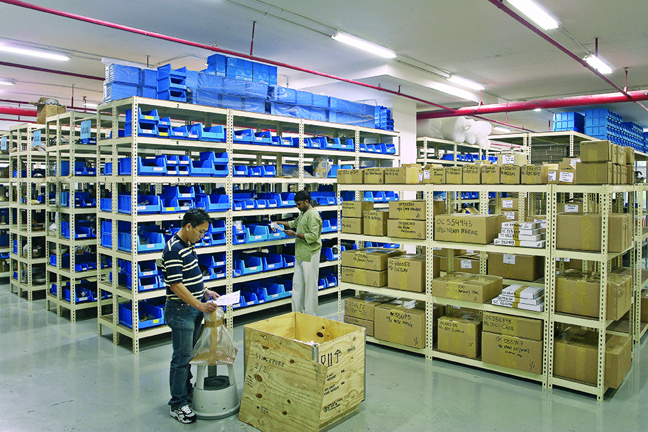 warehouse COMTECH - soteco group